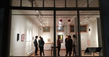 trans/draw opening at Gallery 263.