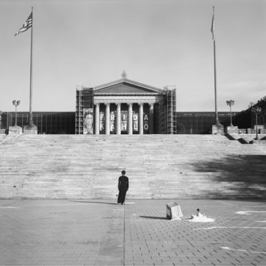 """Philadelphia Museum of Art – Philadelphia"" (2006) Courtesy of the artist and Jack Shainman Gallery, New York."