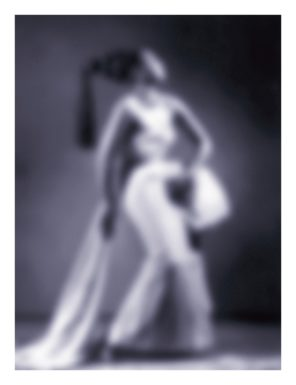"""Slow Fade to Black II (Josephine Baker)"" (2009-2011) Courtesy of the artist and Jack Shainman Gallery New York."
