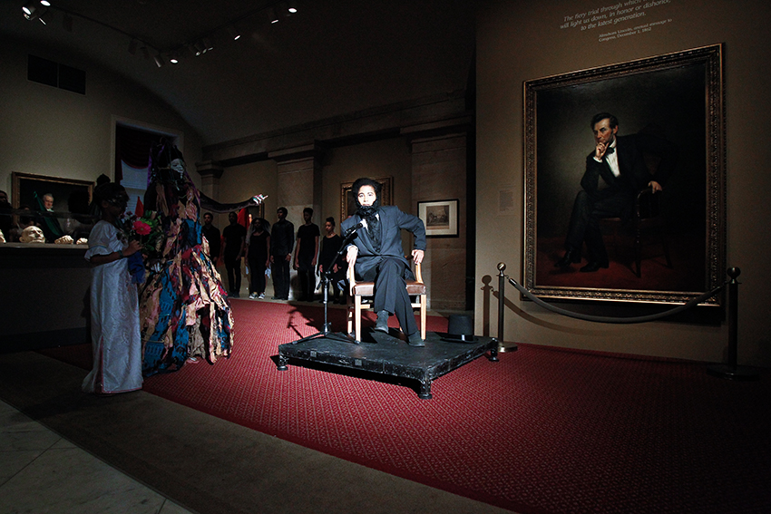 SMITHSONIAN NATIONAL PORTRAIT GALLERY with MARIA MAGDALENA CAMPOS-PONS & NEIL LEONARD.