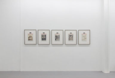 """Installation view, """"A Routine Pattern of Troubling Behaviour,"""" Corey Escoto. Courtesy Samson Projects."""