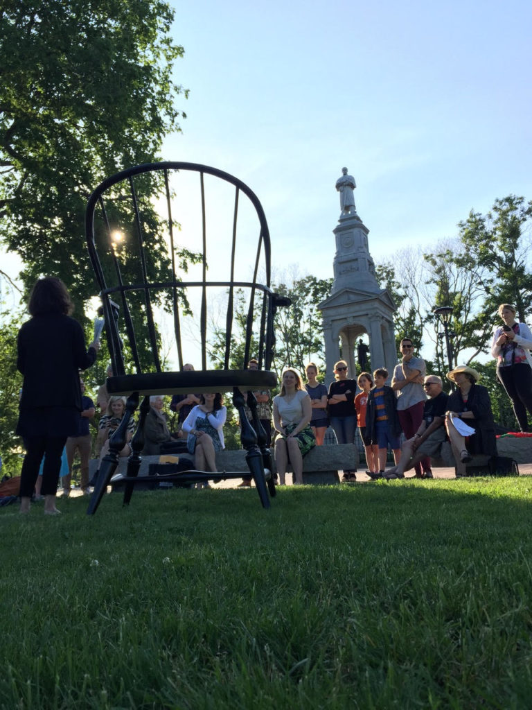 Common Exchange workshop in Cambridge Common, June 15, 2017, Photo: P.T. Sullivan